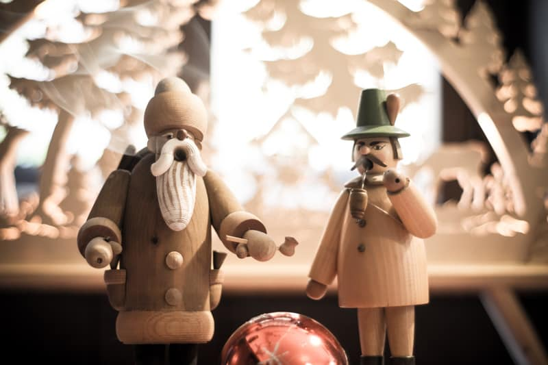 Räuchermann & Schwibbogen, Weihnachtsfeier